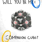 Be My Companion Cube by NerdCat