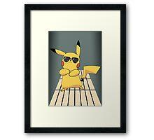 Pika Gangnam Style Framed Print