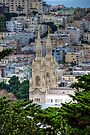 Saints Peter and Paul Church In SanFrancisco by Diego  Re