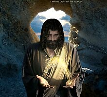 Jesus, I am the light of the world (iPhone/iPod Case) by Angelicus