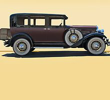 1930 Franklin Airman 145 Deluxe Sedan w/o ID by DaveKoontz