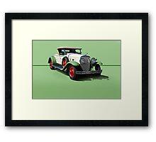 1929 Cadillac 341B Convertible V8 w/o ID Framed Print