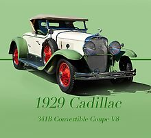 1929 Cadillac 341B Convertible V8 w/ID by DaveKoontz