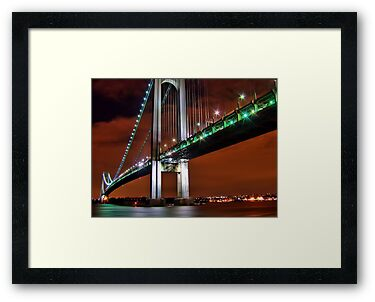 Verrazano Bridge by Evelina Kremsdorf