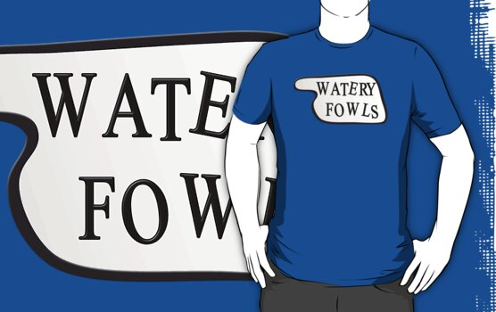 Fawlty Towers - Watery Fowls by metacortex