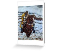 Storm Clouds and Strays Greeting Card