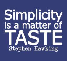 Simplicity by Irina Chuckowree