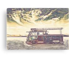 Desert storms Canvas Print