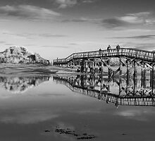 Lossiemouth East Beach Bridge by Kieren