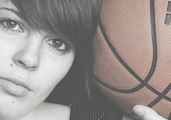 Basketball by Melissa Pinard