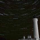Lossiemouth Lighthouse Star Trail by Kieren