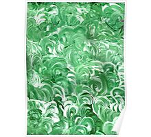 WHIRLING IN GREEN Poster