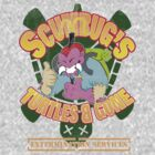 Scumbug&#x27;s Turtles B gone Extermination Services (distressed)  by barry neeson