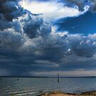 Cloudy Day Scenery by Carolyn  Fletcher