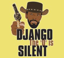 Django as comic by D4RK0