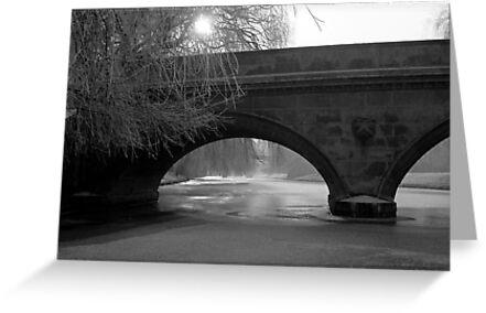 The Frozen River Cam 1962 by NevilleNewman