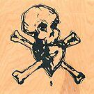 Skull Heart by Christian Scheuer