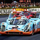 Porsche 917 at Le Mans by davidkyte