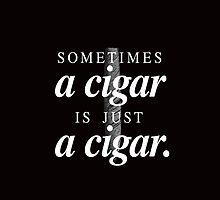 Freud's cigar by emilieroy
