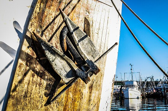 Anchor Up III by m E Grayson