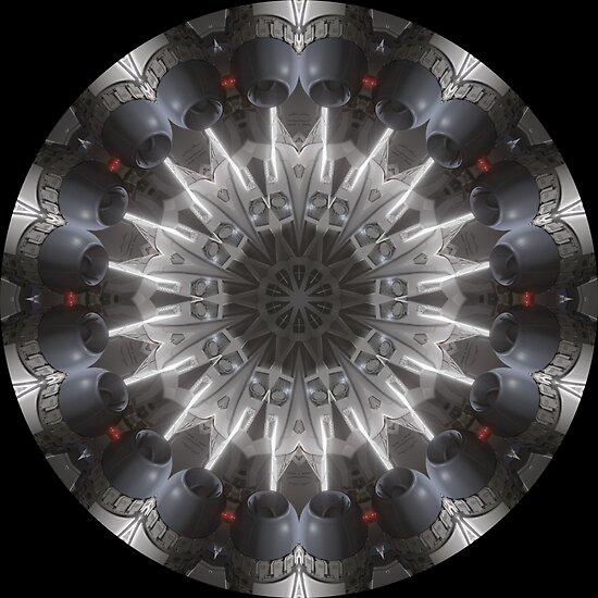 Jet Engine Kaleidoscope 01 by fantasytripp