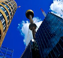Sydney Tower by DAJPowell