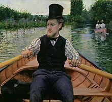 Rower in a Top Hat, c.1877-78 by Bridgeman Art Library