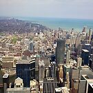 long view Chicago downtown by thvisions