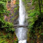 Multnomah Falls, Oregon by ArtzMakerz