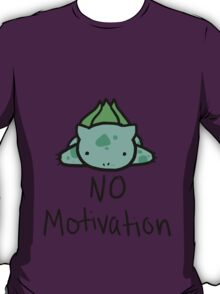 Lazy Bulbasaur T-Shirt