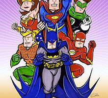 Young Justice by Patrick Scullin