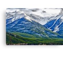 Banff, Alberta Colors Canvas Print