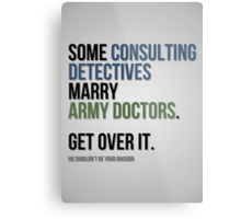 Some Consulting Detectives... Metal Print
