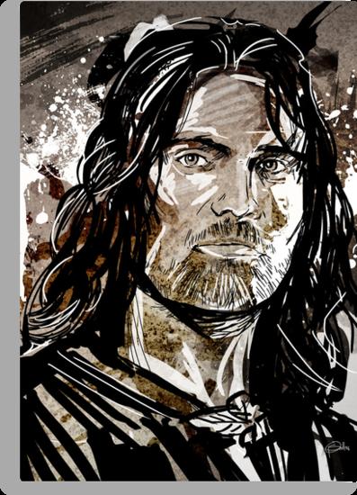 Aragorn by Patrick Scullin