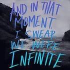 Infinite (The Perks of Being a Wallflower) by Leah Flores