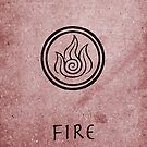 Avatar Last Airbender Elements - Fire by briandublin