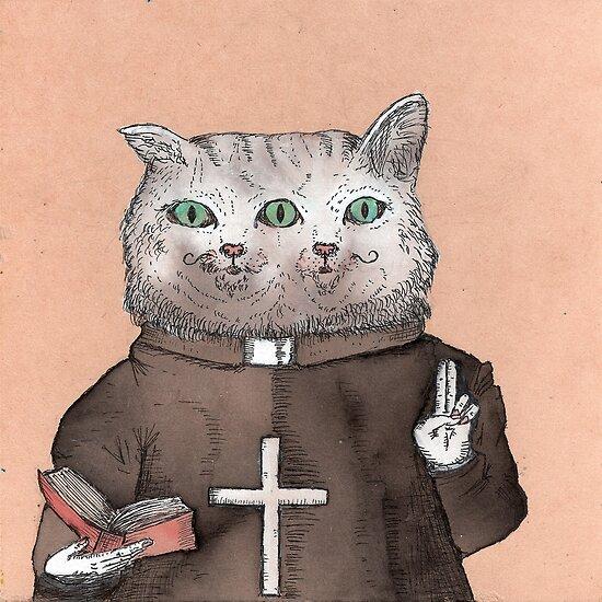 Bicephalous Cat by Alephredo Muñoz