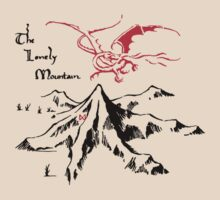 The Lonely Mountain by hunekune