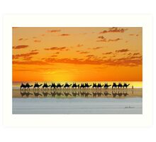 Cable Beach, Broome Art Print