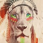 Indian Lion by theonlynonam
