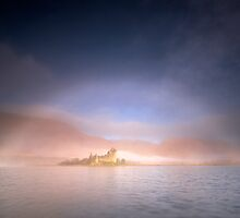 Mistbow and Castle by Jeanie