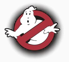 Original Ghostbusters Halftone Logo (in colour) Kids Clothes