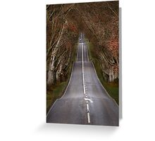 The Long Road Greeting Card