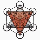 Metatron's Shirt orange and grey by Tiduk