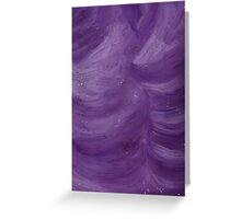 DREAMING IN PURPLE Greeting Card