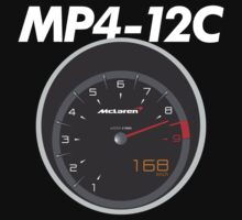 McLaren MP4-12C Speedometer by Leopard