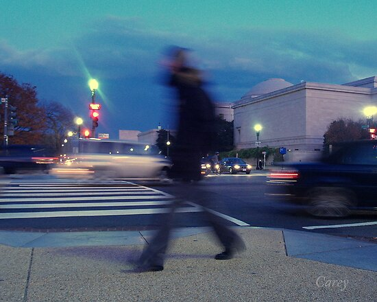 Hurry on Home - Washington D.C, by John Carey