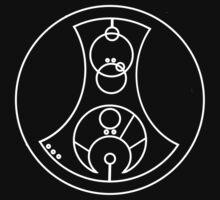 Fuck You - Circular Gallifreyan (white) by robynhinchman