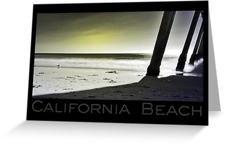 California Beach (card) by Kevin Bergen