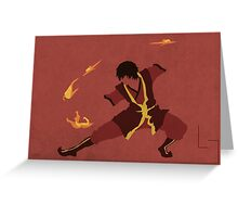 Zuko Greeting Card